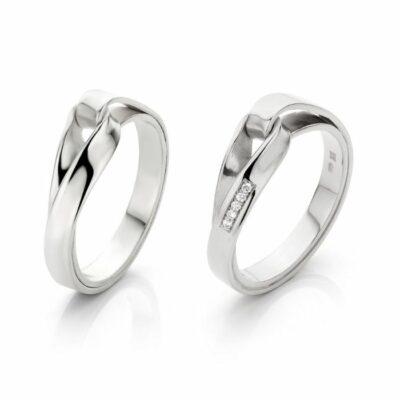 Endless love in zilver met of zonder diamantdiamant, Nicoline van Boven