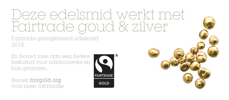 Fairtrade geregistreerd edelsmid Nicoline van Boven