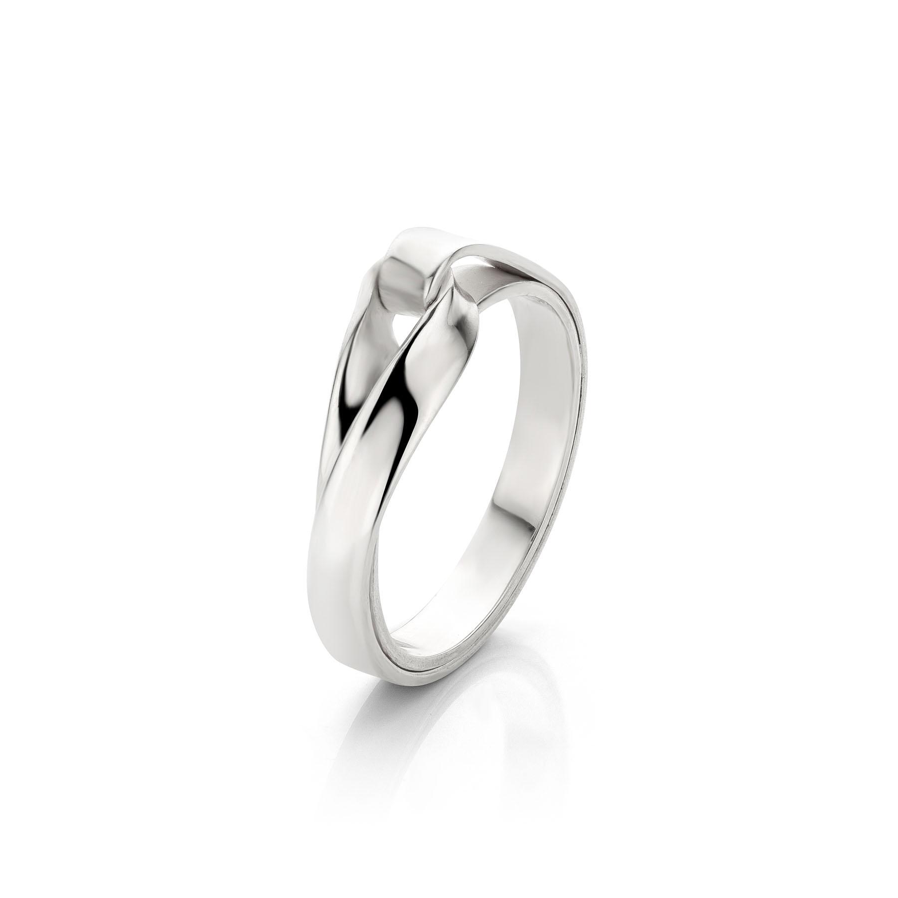 Endless Love ring zilver, Nicoline van Boven